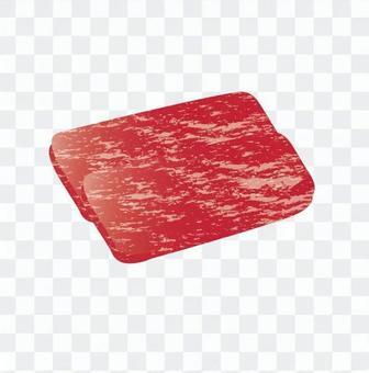 肉 - 牛肉桃(切片)