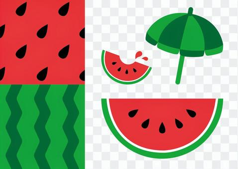 Watermelon [Pattern is compatible with swatches]
