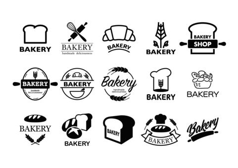 麵包店標記(黑色)
