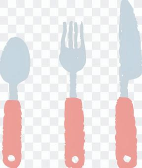 Cutlery (Pink)
