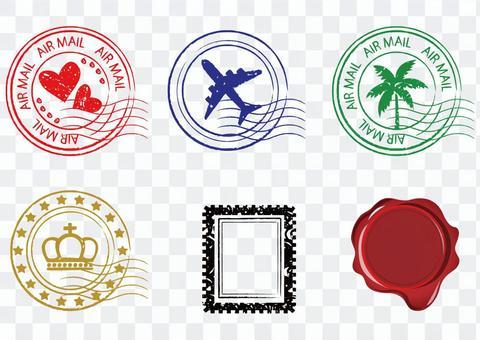 郵票的材料
