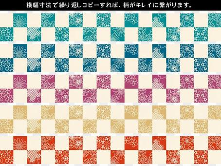 日本模式植物裝飾裁決集15