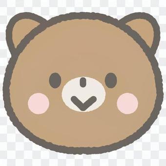 可愛的動物熊