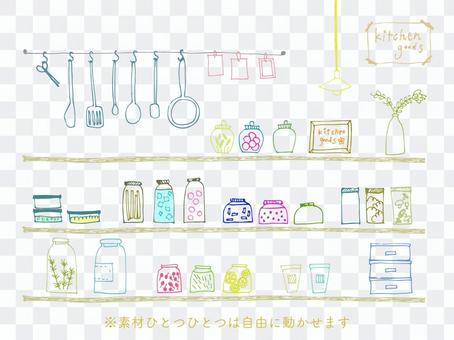 Handwritten kitchen goods 2