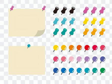 Design material _ push pin