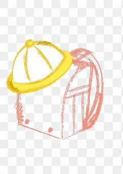 書包和學校帽