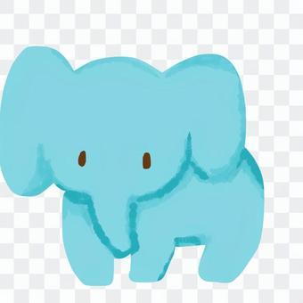 大象的鬆散插圖