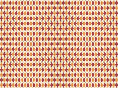 菱形圖案檢查秋季背景黃色