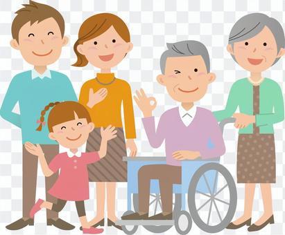 70914.輪椅,家庭