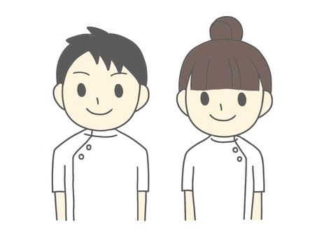 護士男人和女人