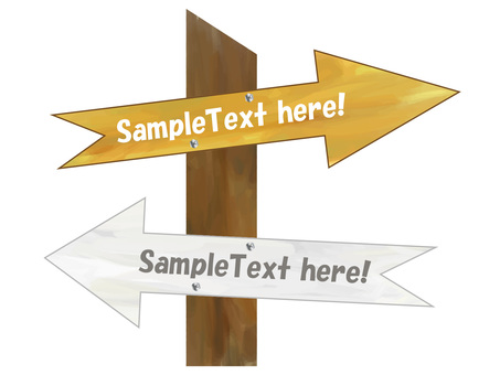 木式方向牌、信息牌、指示牌、箭頭
