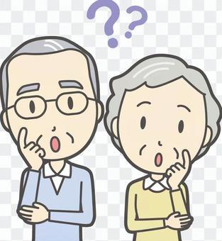 男人和女人設置老人01-5胸圍