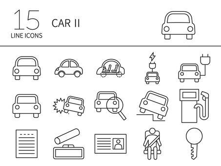 汽車圖標集