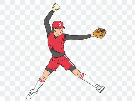 壘球(投手)1