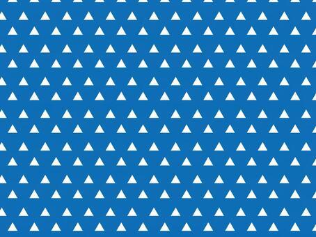 鱗模様 青