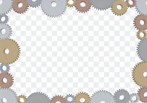 齒輪架3D機器圖像