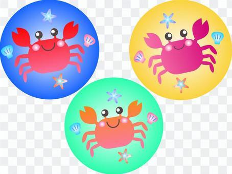螃蟹圖標集