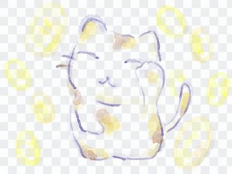 大橢圓形貓