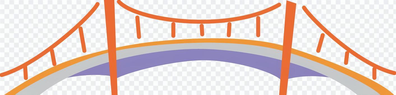 簡單的剪紙橋