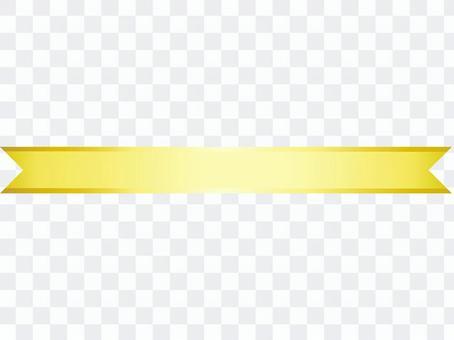 ai裝飾,彩帶黃1分