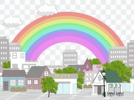 彩虹的城市(彩虹中心)