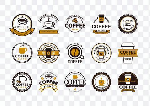 Coffee mark 2-color