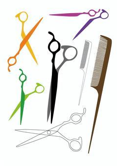 美髮師的工具