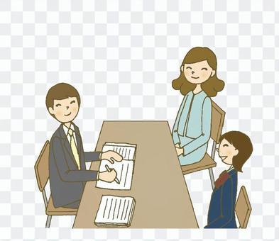 Triple Interview 3(男,女學生,母親)