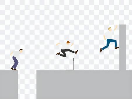 人生の試練_障害物競争_ハードルや壁