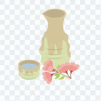 Cherry-blossom alcohol