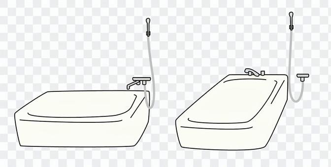 Bath bath shower water