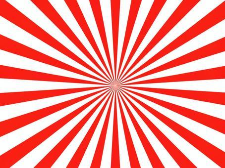 背景徑向輻射紅色簡單