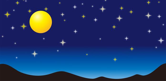Night sky landscape material part 2