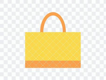 課包絎縫黃色