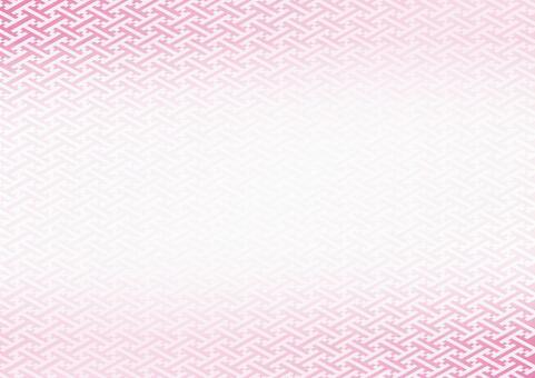 日本模式 - 粉紅色