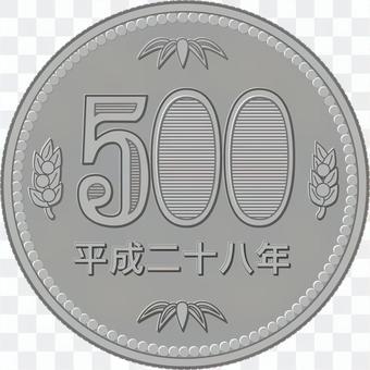 500日元
