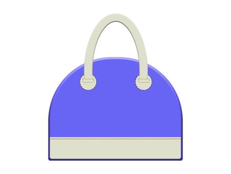 Leather bag 12-5 (blue)