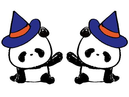 Child Panda-Halloween