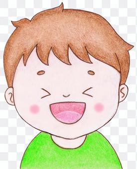 笑っている子供