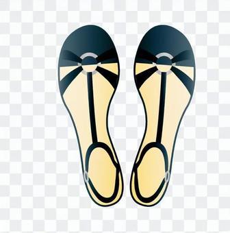 涼鞋(黑色)