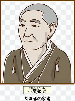 大原鐵心江戶幕松大垣域舊史