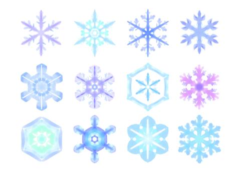 Snowflake material
