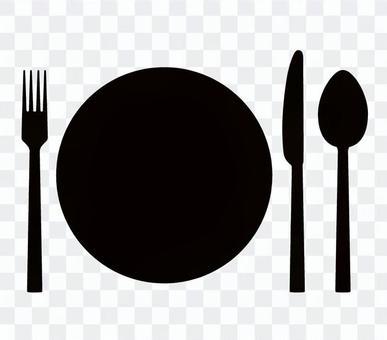 Knife fork icon 01