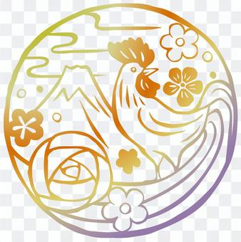 酉壽版畫/虹色
