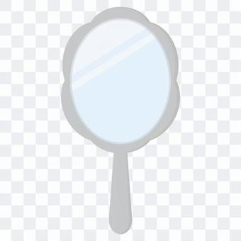 シンプルな手鏡