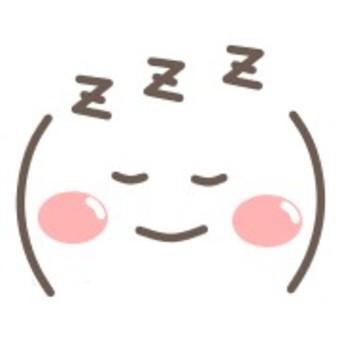 圖釋臉微笑微笑睡眠睡眠