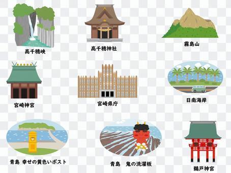 宮崎市的觀光景點