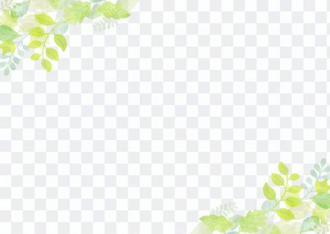 잎 배경 1