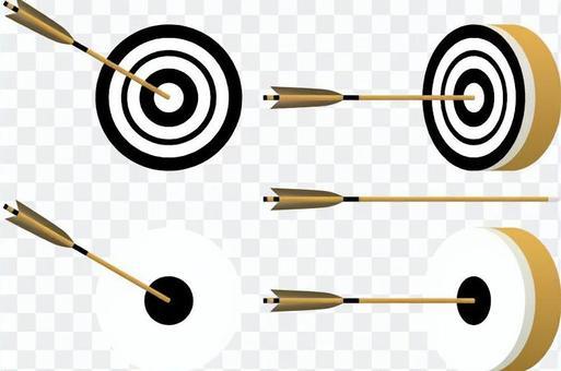 射箭的方式