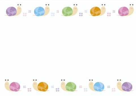 多彩的蝸牛